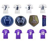 Wholesale Best thailand quality real madrid Champions League soccer Shirts ronaldo bale james kross Soccer shirts MCN3