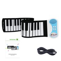 Wholesale Roll Up Piano PN49S Keys Only one mini USB port support midi out can play with software on computer