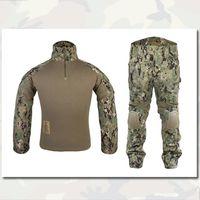 Wholesale BDU Gen2 Combat Uniform Military Army EMERSON Tactical Shirt Pants with Elbow Knee Pads AOR2 EM6924