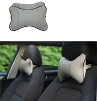 Wholesale Automobiles Interior Accessories Four Seasons are All Used Car Neck Pillow with Color Choices Leather Space Cotton