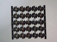 Wholesale CREE XML T5 T6 U2LED PCB Aluminum base plate Circuit board mm Diameter For DIY LED Light