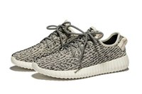 Wholesale Top Version New Updated Kanye West Boost Low Cut Sneakers Men Women Gray Black Tan Moonrocks Boots Kid Outdoor Shoes