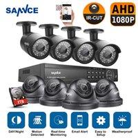 al por mayor 2tb 16 canales cctv dvr-SANNCE 16CH HD 1080P Video DVR Sistema de CCTV para cámaras de seguridad de vigilancia con 2TB