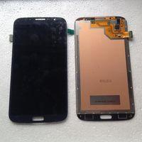 Pour Samsung Galaxy Mega 6.3 i9200 i9205 i527 Montage LCD Moniteur Ecran tactile Pièces de réparation pour numériseurs sans cadre