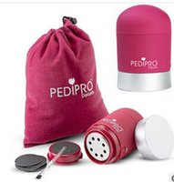 Wholesale Pedipro Deluxe Electric Grinding Foot New Grinding Exfoliating Products Spot Hard Skin Remover Kit Set DHL aa