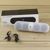 Wholesale Pill Speaker Bluetooth Mini Speakers Portable Wireless Music Sound Box Audio Super Bass USB TF Card Handsfree Player With Retail Package