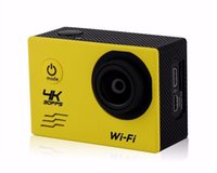 action kamera - Free send DHL Ekshn kamera Action Camera Allwinner V3 K fps WiFi quot Degreed Underwater GoPro Style Sport Camera Multicolor