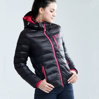 Wholesale New Women s Fashion brand Winter coat jacket high quality Hooded Women s Down jacket thick warm Overcoat Women s Down