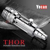 Precio de 94f yocan-Auténtica thor Yocan vaporizador 2015 más nuevo Yocan thor pluma hierba seca vaporizador de cristal del atomizador Sin mechas Sin bobina 94F ExPure THOR Bullet