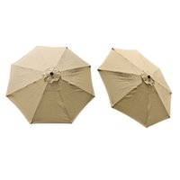 Wholesale Replacement Cover Canopy Ribs Umbrella Tan Top Patio Market Outdoor