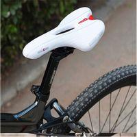 Venta caliente del camino de MTB de la montaña bicicleta de la bici de silla de montar de la cubierta antideslizante amortiguador de asiento del cojín del amortiguador deporte al aire libre del montar a caballo de la orden $ 18Nadie pista