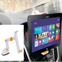Wholesale Gooseneck Tablet Holder Stand Car Windshield Dash Mount for ipad Air mini for Samsung Tablets