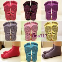 athletic sock manufacturers - 2016 women cotton socks Direct manufacturers with Ladies Professional Yoga socks slip toe socks cotton socks toe dance YOGA socks