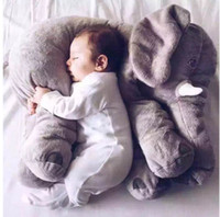 Wholesale Big Elephant Pillow High Quality Kids Plush Toys Stuffed Animals Help Infant baby Sleep