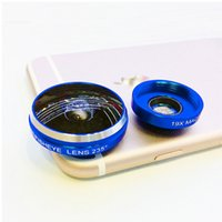 Wholesale Universal Super Mobile Phone Lens Circle Clip Fisheye Fish Eye Lens Degree for iPhone Samsung note