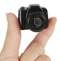 Wholesale Smallest Keychain P HD Mini Camcorder with High Quality Video Photo Black Support charging while recording