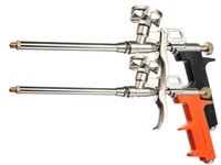 Wholesale Black Yellow Orange Professional Heavy Duty PU Foam Gun Grade Expanding Spray Application Applicator Length cm