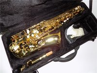 Wholesale Eb Alto saxophone Brass Body Lacquer Finish with ABS case Shipping time days accessories Musical instruments