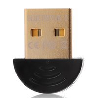 Wholesale Wireless Bluetooth Adapter CSR Bluetooth V4 Dual Mode Wireless Dongle Free Driver USB2 m Mbps for PC Tables