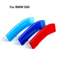 abs film - 3D Car Grille Sport Stripe ABS Decal Sticker for BMW Series E60 Cheap grill rack