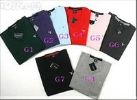 Wholesale 2015 Winter Sweater Men V neck Casual knitting Jumpers Sweaters Mens Long Pullovers Famous Brand