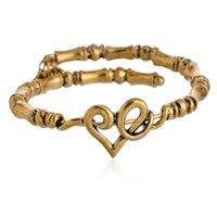 antique gold filled bangle bracelet - 2016 vintage antique gold plated adjustable chunky alex and ani bangle bracelet for women fast shipping hours