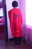 Wholesale christmas Batman Spider man cm Costume Adult Superman Superhero Cape Batman Spiderman Supergirl Adult capes styles