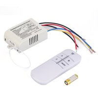 Wholesale V Way ON OFF Digital RF Remote Control Switch Wireless For Light Lamp High Quality