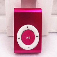 Wholesale mini clip MP3 Player with tf card slot without accessories not the lowest but the best no card no cable
