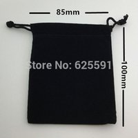 Wholesale set Dice bag cm quot Black Velvet Pouch Jewelry Bag Christmas Gift Bags amp Pouches Board Game