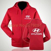 beijing clothing - Women and men fall and winter clothes coat car beauty Beijing Hyundai zipper hoodie s shop work clothing zipper sweatshirts
