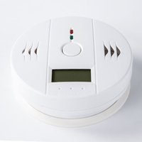 Wholesale Factory price carbon monoxide detector Home Safety CO Carbon Monoxide Poisoning Smoke Gas Sensor Warning Alarm Detector
