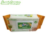 alcohol hand wipes - Sweet Carefor Mung Bean Extract Baby Wipes With Cover Pack Contain Vitamin E Alcohol Free Baby Wipes For Hand and Mouth