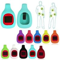Wholesale 2016 Colorful Silicone Magnetic Clip Case For Fitbit Zip Clip Activity Tracker High Quality