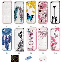 Wholesale new fashion iphone6s case IMD CELLPHONE FLASHING girl friend gifts nice pattern fashion case for iphone s