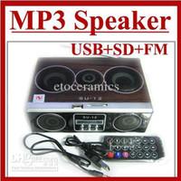 su12 - Mini Sound box MP3 player Mobile Speaker boombox FM Radio SD Card reader USB SU12 Lots50