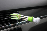Wholesale Automobile air conditioner air outlet brush brush car gap brush cleaning brush corner brush instrument panel brush