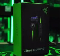 best headphones gaming - Razer Hammerhead Pro V2 In Ear Earphone Headphone With Microphone Retail Box Gaming Headset best quality Noise Isolation mm factorysell
