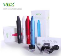 atom red - VAX Dry Herb Vaporizer Pen wax Smoking ecig Vapor Cigarettes Atoms Pen mah E cigarettes VS Snoop dogg g pro vaporizer pen