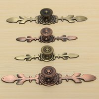 Wholesale Bronze Single Hole Drawer Pull Handle Knob For Door Drawer Cabinet Fit For Home Decoration