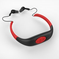 Wholesale IPX8 Waterproof Sports MP3 Music Player Underwater Neckband Swimming Diving with FM Radio Earphone Stereo Audio Headphone