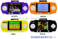 Wholesale Brand New Inch TFT LCD PVP Portable Handheld Game Console Enclosed A Game Cassette With Games
