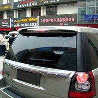 Wholesale Top Quality Rear Roof Car Spoiler For Land Rover Freelander SUV rear wing ABS Plastic spoiler without paint