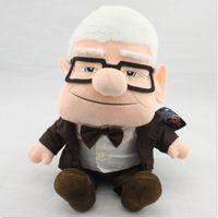 Wholesale Carl Movie quot UP Plush Doll Figure Stuffed Toy Fredricksen Russell Friend Gift