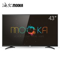 Wholesale MOOKA Card A6M Inch LCD TV HD Smart Flat panel TVs Inches Free Delivery