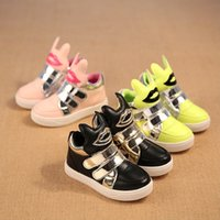 aa wings - Hug Me Girls Boys New Autumn Children s Shoes Lights Casual Shoes Wing Lace Up Shoes AA