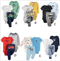 baby creepers - Kids Baby Boy Cotton Anmial Baby Climbing Clothes Piece Poke Creeper Pants Set M M