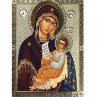 bible types - Diamond Painting Madonna and Child bible Diamond Embroidery Rrhinestone Pasted Painting home decoration gift x40cm LF