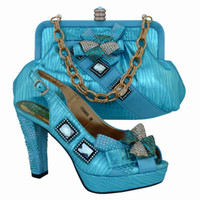 amazing heels - Latest really beautiful fashion shoes Africa high heel ladies shoes matching amazing bag CP3003