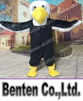 bald eagle animal - VO149 Custom Bald Eagle Mascot Costume Eagle Costumes Party Fancy Dress Adult Animal Carnival Party Halloween Outfits Event Performance